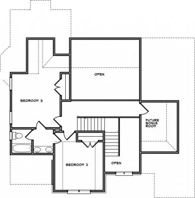 Home Plan - Second Level