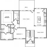 Home Plan - Main Level